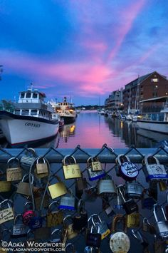 Good evening from Portland, #Maine!  Photo by Adam Woodworth Photography  Been there and love it!