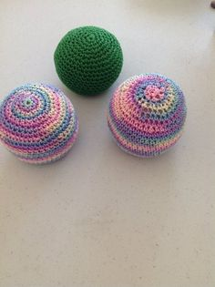hacky sacks and a pattern pattern is in my KP Bookmarks