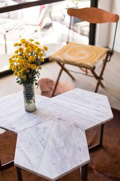 Kitchen Dining Room Divider Shelves On Both Sides Modern Interior Design Los Angeles