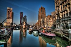 The Old Harbour by René Ladenius on 500px - Rotterdam