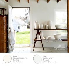 """White walls are  trending  right now precisely because they are so  """"timeless and dd4d09e69c"""