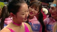 [ISAC2017] Don't cry YooA. Teary moments by YooA & WJSN's Cheng Xiao. Good job to all gymnasts in ISAC2017 for their hardwork.. Credit to @shaytyen @twitter  #kpop #idol #ohmygirl #OHMYGIRL #omg #오마이걸 #miracle #wjsn #DIA #gugudan #laboum #exid #apink #b1a4 #cute @wm_ohmygirl #army #got7 #ioi #bts #exo #twice #blackpink #gfriend #snsd #seventeen