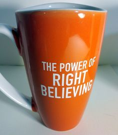 The Power Of Right Believing Mug Cup Joseph Prince Gift