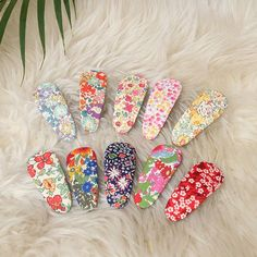 Liberty fabric Snap Clip,Hair clips,Hair Accessoies,Liberty Fabric covered hairpins for girls,Snap C Gold Nails, Gold Glitter, Glitter Nails, Glitter Glue, Barrette, Fabric Headbands, Liberty Fabric, Make Color, Glue On Nails