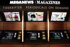 Quem nunca comprou um jornal inteiro para ler somente um ou dois encartes? E você já pensou também no desperdício de papel (e dinheiro!) causado pelas sobras de jornais que não são comprados nas bancas, e que tem que ser devolvidos para a editora? Até que enfim alguém pensou em uma solução para isso. Uma banca de jornais e revistas chamada de Meganews, que fica em Estocolmo, na Suécia, é a primeira do mundo a contar um sistema de impressão instantânea. Lá os clientes podem escolher suas…