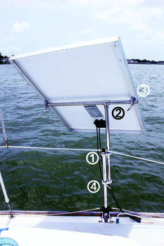 With a lot of ingenuity and a few homemade parts, a Florida liveaboard sailor unplugs from the grid in comfort.
