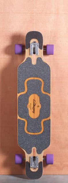 """39"""" Tan Tien Longboard Complete, Flex 3"""