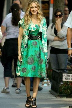 Carrie Bradshaw, Sex and the City, and those Dior shoes. #fashion #style