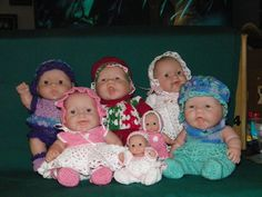 Christmas Baby Dolls and Itty Bitty dolls
