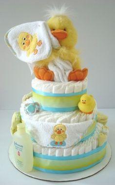 exemple gâteau de couches  bon c'est juste pour donner une idée de ce que c'est!