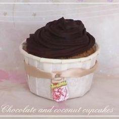 Cupcakes de Coco y Chocolate