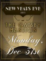 New Years Eve Great Gatsby Spectacular