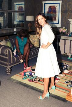 sarah jessica parker shoe collection #sweepsentry