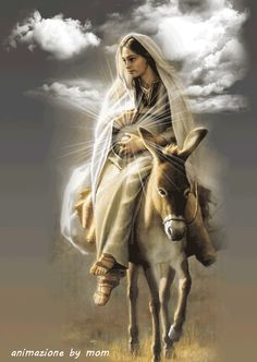 ~J Most wonderful child ever to be born Jesus the Christ child and Mary his mother