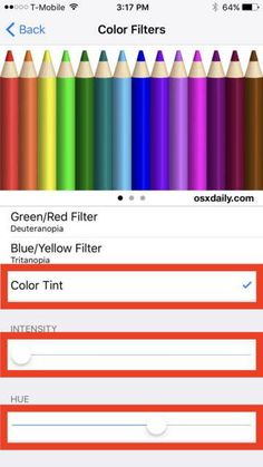 iPhone 7 está teniendo problemas con los colores de la pantalla
