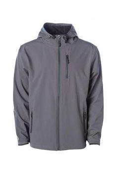 d0c27d82d64 EXP35SSZ Mens Poly-Tech Soft Shell Jacket - Independent Trading Co. -  Wholesale Apparel