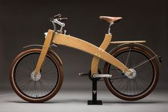 Handmade in Portugal, Mud Cycles Wood Bikes Are Built From Scratch.......utilitarian.