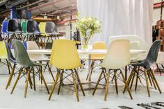 Binti Home Blog: Dierbaar Design at Design Icons Amsterdam 2014 #sidechair #pk54a #fritzhansen #eames #designicons #vintagedesign Side Chairs, Dining Chairs, Dining Room, Charles Eames, Cafe Restaurant, Vintage Design, Icon Design, Amsterdam, Interiors