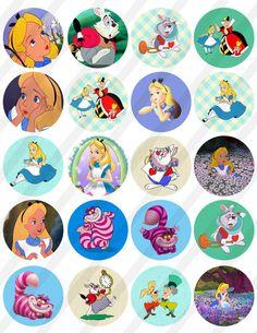 alice in wonderland quotes Alice In Wonderland Printables, Alice In Wonderland Clocks, Alice In Wonderland Cupcakes, Alice And Wonderland Quotes, Wonderland Party, Bottle Cap Images, Mad Hatter Tea, Button Art, Disney Wallpaper