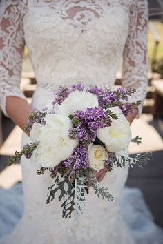 Purple Wedding Flowers Is it possible not to be completely awestruck by this dreamy lilac wedding at The Citadel in the United Kingdom? - Is it possible not to be completely awestruck by this dreamy lilac wedding at The Citadel in the United Kingdom? Lilac Wedding Flowers, Wedding Flower Guide, Purple Wedding Bouquets, Bride Bouquets, Flower Bouquet Wedding, Rose Wedding, Wedding Colors, Fall Wedding, Dream Wedding