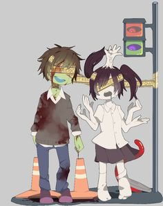 "Yume Nikki the ""car crash couple"""