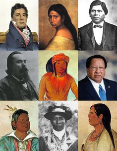 Facial features of chickasaw tribes