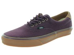 Vans Unisex Era 59 C&L Winetasting/Classic Gum Skate Shoe 8 Men Us / 9.5