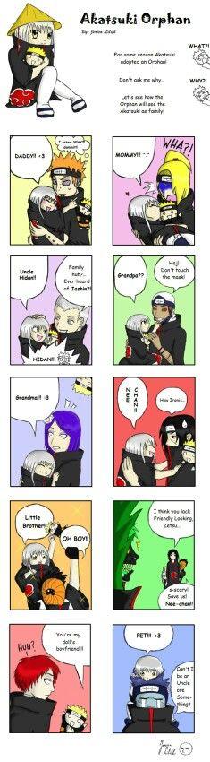 Funny Akatsuki Comics #1