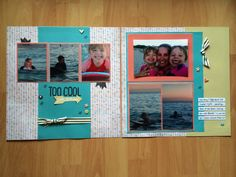 "CTMH Chalk It Up WOTG additional layout - love the colours in this pack and how ""non-school"" it actually is! Check out this great pack on my website www.meganwhite.ctmh.com.au"