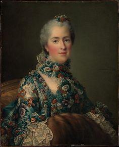 Madame Sophie de France (1734–1782), 1762byFrançois Hubert Drouais (1727–1775)