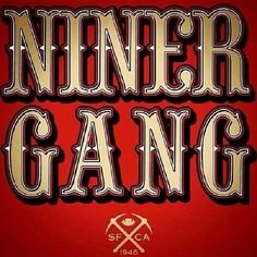 Niner Gang...YEAH BABY!!! Sf Forty Niners, Sf Niners, Nfl 49ers, 49ers Fans, Jets Football, Football Memes, Football Players, San Francisco Football, San Francisco Giants