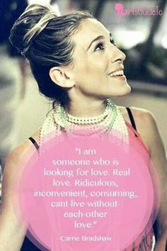 Carrie Bradshaw's quotes