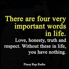 Important words, ,,