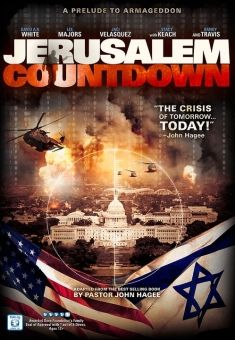 """""""Jerusalem Countdown"""" - (James Hagee) - Christian Movie/Film on DVD/Blu-ray with Randy Travis, David A.R. White and Jaci Velasquez. Check out Christian Film Database for more info - http://www.christianfilmdatabase.com/review/jerusalem-countdown/"""