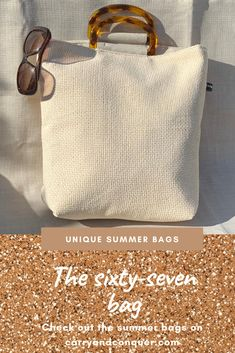 Our days spent dreaming of breezy dresses, white blouses and summer accessories - is now a reality! 🕶👗👡 The super stylish Sixty-seven Bag will update your summer look in an instant👌  Order yours on the webpage or contact me for a lovely chat!  carryandconquer.com      690,- NOK. or 69,-€ #totebag #beachbag #everydaybag #summervibes #norsk #design #scandinaviandesign #håndlaget #unique #handmadebag #norge #sommerferie #justalittlebitedgy #neutrals #beige #linen #avslappet #veske White Blouses, Summer Accessories, Summer Bags, Everyday Bag, Handmade Bags, Summer Looks, You Bag, Scandinavian Design, Design Your Own