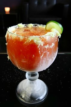 Dos XX Lager and housemade michelada mix in a chilled glass dressed in lime juice.oh so delicious Mexican Snacks, Mexican Food Recipes, Drink Recipes, Michelada Mix, Cheers, Refreshing Summer Drinks, Bloody Mary, Food Truck, Finger Foods