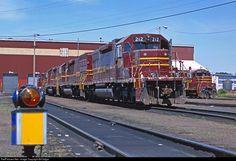 RailPictures.Net Photo: DMIR 212 Duluth, Missabe & Iron Range Railway EMD SD38-2 at Proctor, Minnesota by Bill Edgar