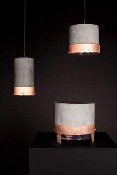 Sonic f.lux by Marco Busani and Natalie Konopelski. More similar images at http://www.brabbu.com/en/inspiration-and-ideas/ #CopperLighting