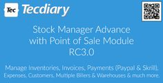 Download Stock Manager Advance v3.2.5 with Point of Sale Module Nulled Latest Version