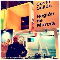 Ya estamos en @fitur_ #fitur2014 a trabajar por la región de #murcia cc @Destino Región de Murcia
