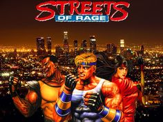 Streets Of Rage. for Sega Genesis