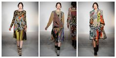 Bruno Basso and Christopher Brooke–use digital fabric printing technology for their entire collection.