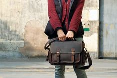 Genuine Leather DSLR Camera Bag Leather Briefcase Handmade Messenger Bag DSLR Camera Bag 6919 sold by J. Shop more products from J. Leather Studio on Storenvy, the home of independent small businesses all over the world. Canon Camera Models, Cameras Nikon, Dslr Camera Bag, Canon Dslr, Leather Camera Bag, Leather Briefcase, Leather Satchel, Leather Handbags, Leather Backpack