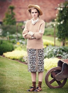 visual optimism; fashion editorials, shows, campaigns & more!: the country girl: elinor weedon by tom allen for uk harper's bazaar october 2...