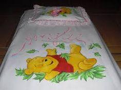 Jogo de colcha de solteiro pintados em tecido