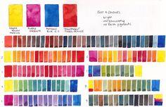 Just four colours