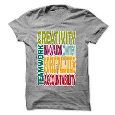 Core values T Shirts, Hoodies. Check price ==► https://www.sunfrog.com/LifeStyle/Core-values-Ladies.html?41382