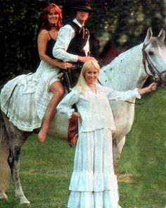 Anni-Frid Lyngstad and Agnetha Fältskog ABBA