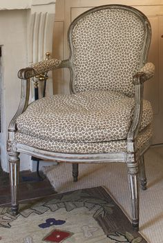 A Louis XVI gray-painted and carved fauteuil circa 1770   Lot   Sotheby's