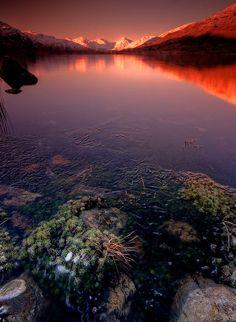 Loch Arklet chill Scotland